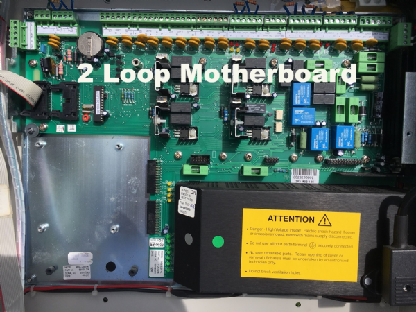 Ziton  ZP3 2 Loop Motherboard on chassis (ZP3-MB2C-230V-2L)